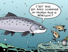 Saumon Réveillon