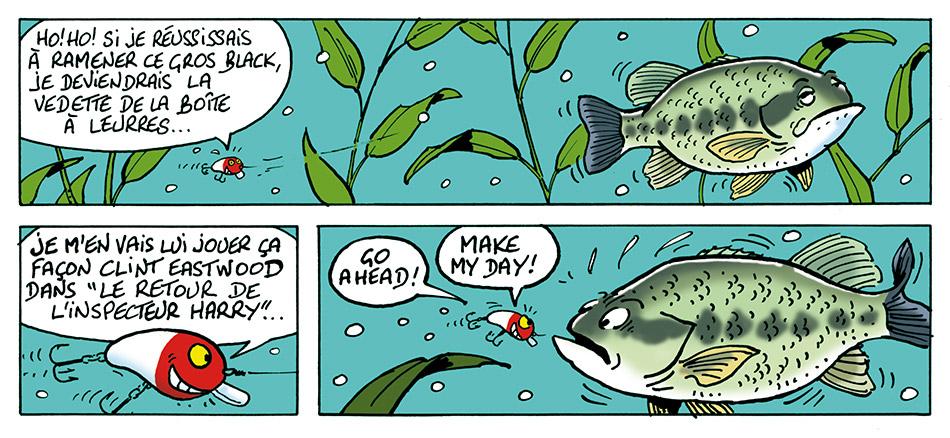 Le stress du poisson nageur